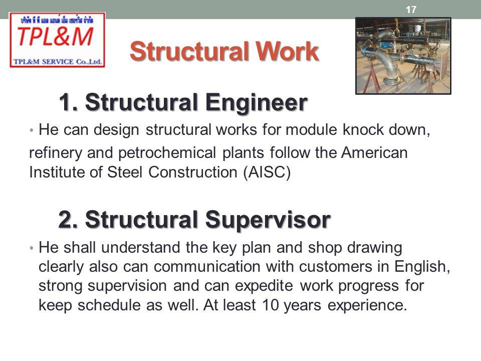 Structural Work 1.