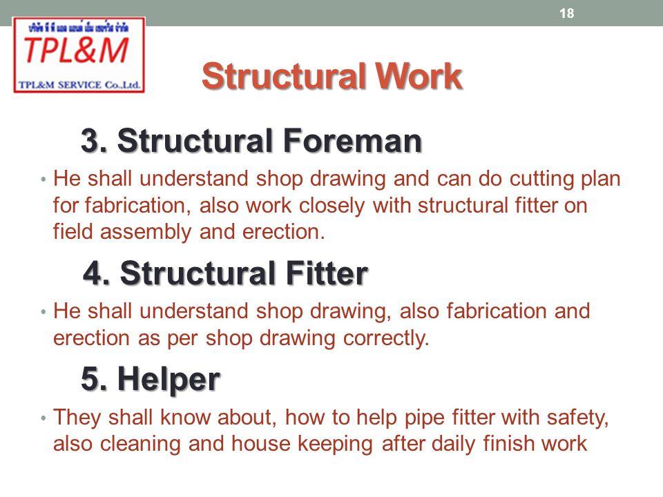 Structural Work 3.