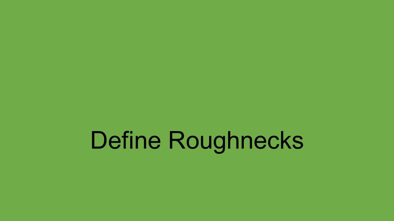 Define Roughnecks