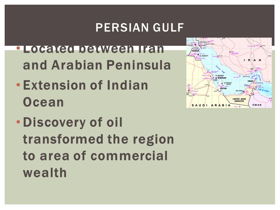 1.Why are the Red Sea and Suez Canal of strategic value in the region.
