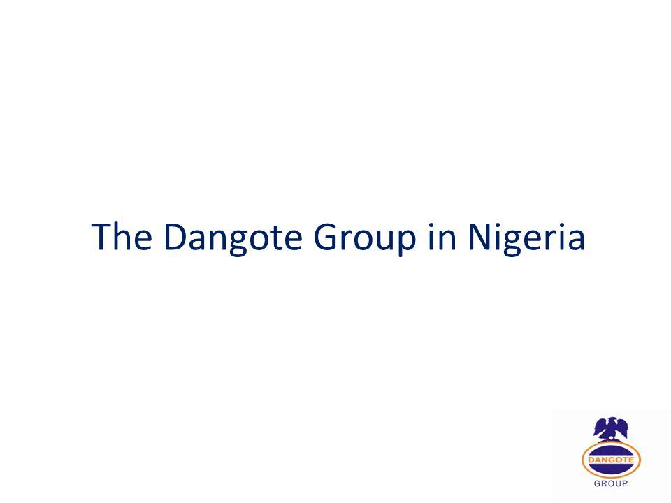 The Dangote Group in Nigeria