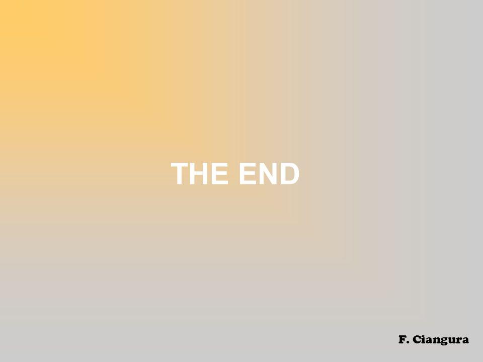 THE END F. Ciangura