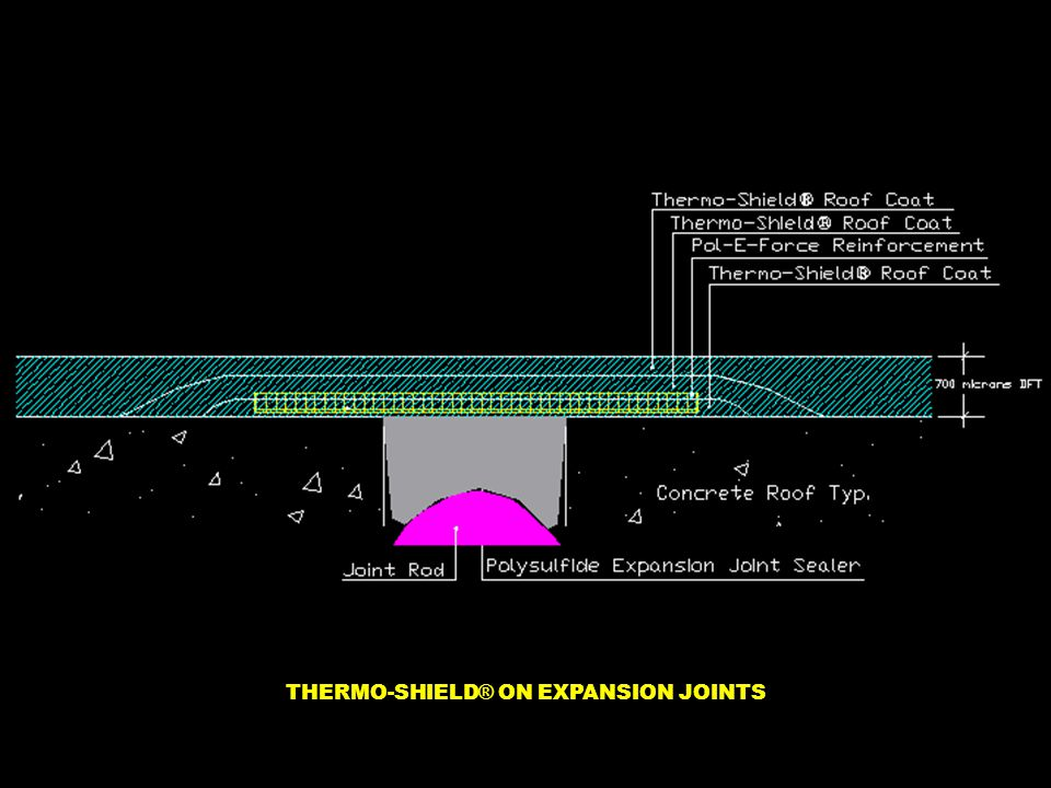 THERMO-SHIELD ® ON EXPANSION JOINTS