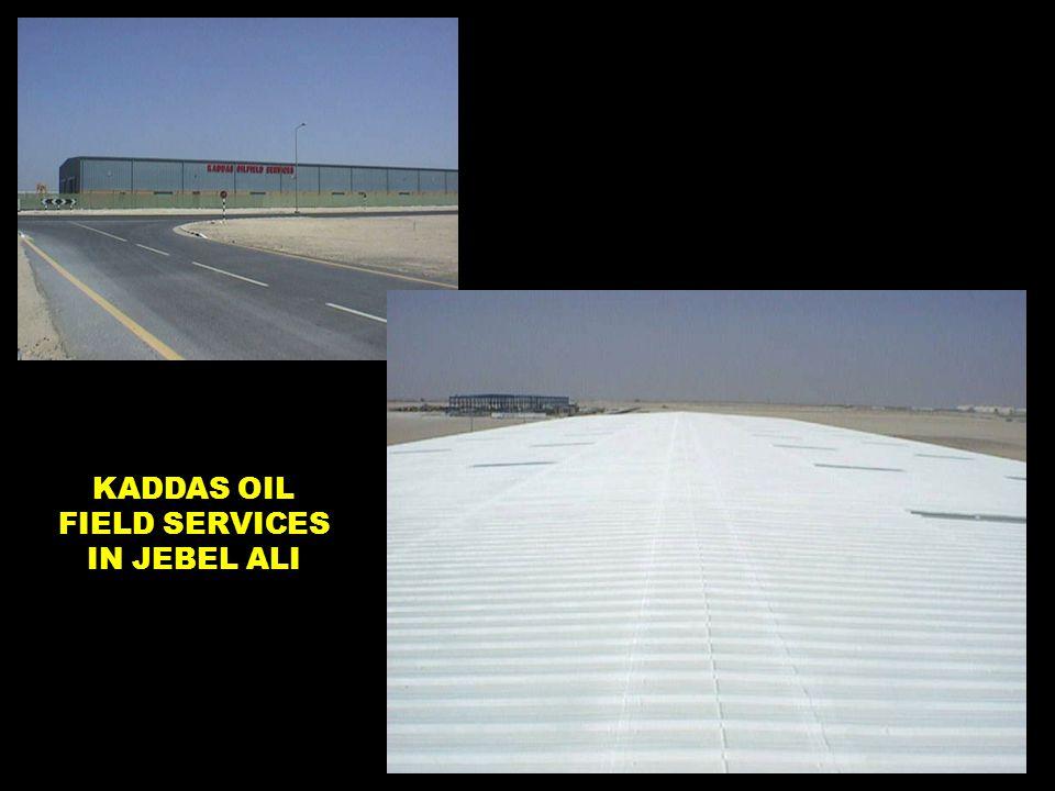 KADDAS OIL FIELD SERVICES IN JEBEL ALI