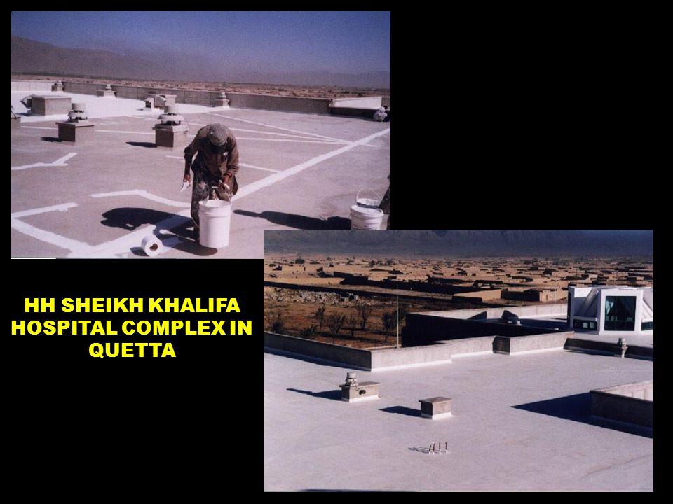 HH SHEIKH KHALIFA HOSPITAL COMPLEX IN QUETTA