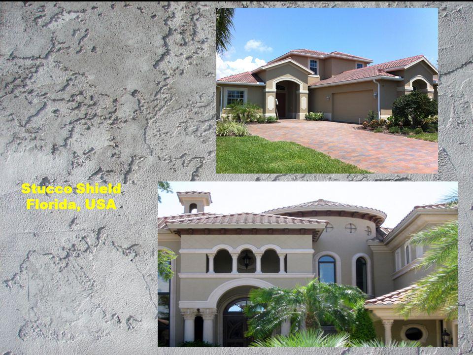 Stucco Shield Florida, USA