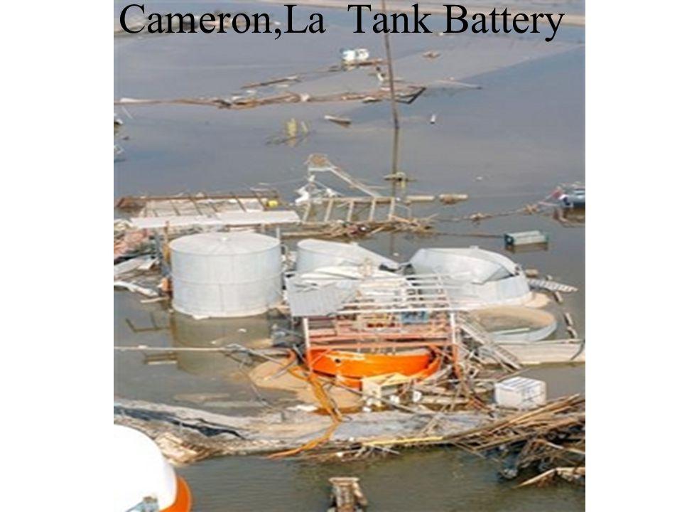 Cameron,La Tank Battery