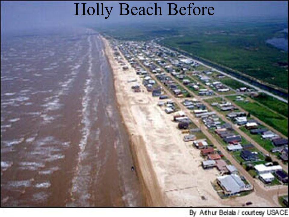 Holly Beach Before