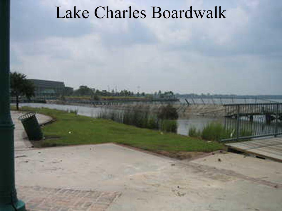 Lake Charles Boardwalk