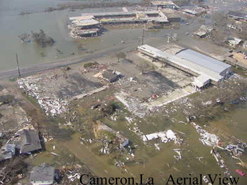 Cameron,La Aerial View