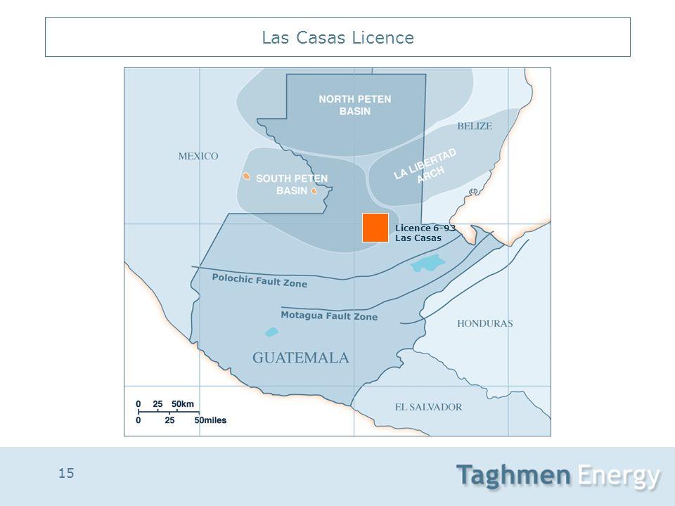 15 Las Casas Licence Licence 6-93 Las Casas