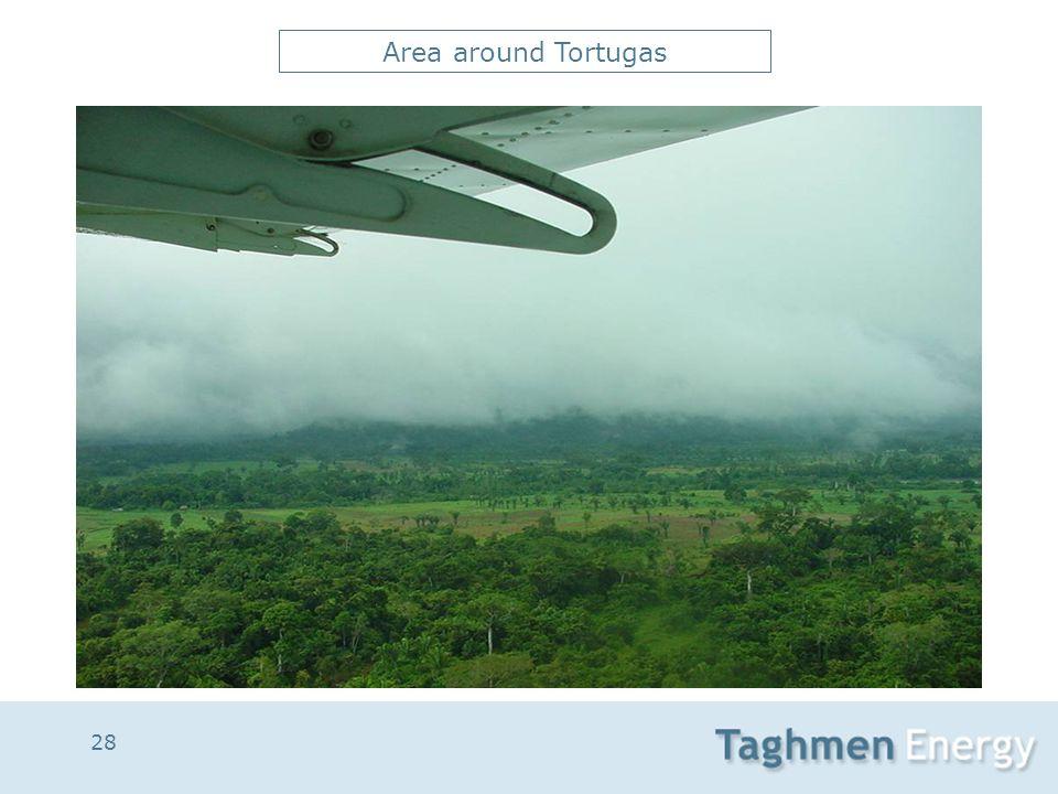 28 Area around Tortugas