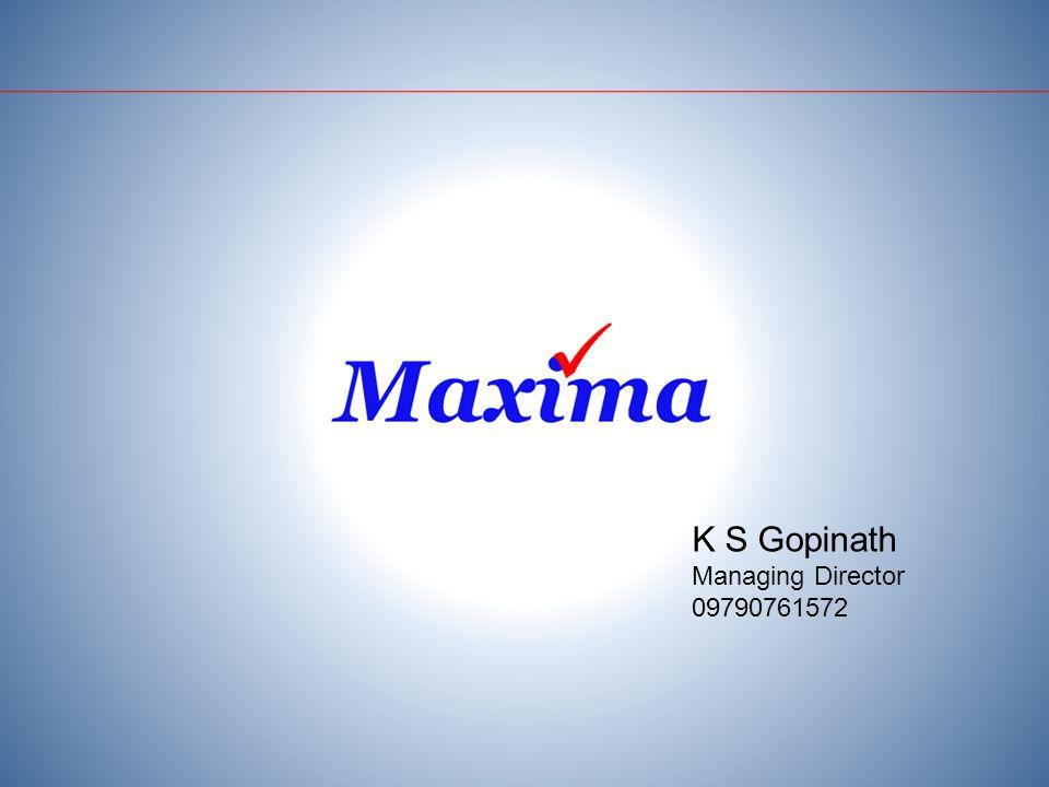 K S Gopinath Managing Director 09790761572