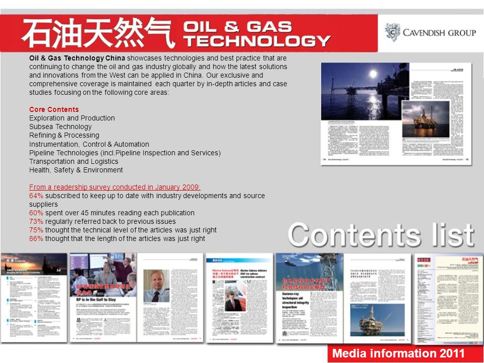 Oil & Gas Technology China showcases technologies and best practice that are continuing to change the oil and gas industry globally and how the latest solutions and innovations from the West can be applied in China.
