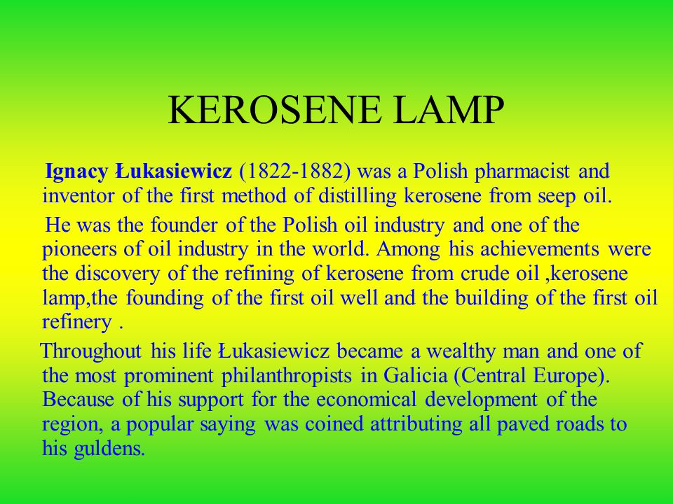 Famous Polish inventors and their inventions