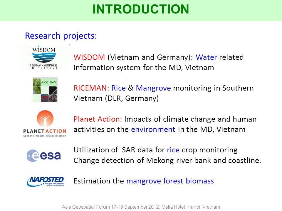 Urban expansion: trend and rate Urban management 1966-19721972-19891989-1997 1997-2002 2002-2007 Asia Geospatial Forum 17-19 September 2012, Melia Hotel, Hanoi, Vietnam