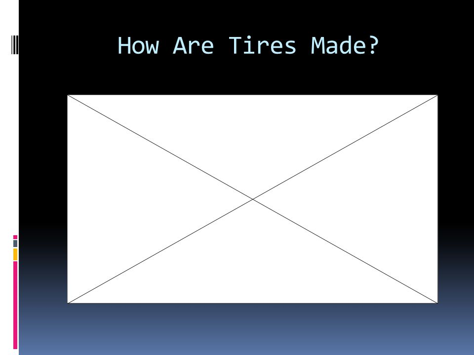 How Are Tires Made