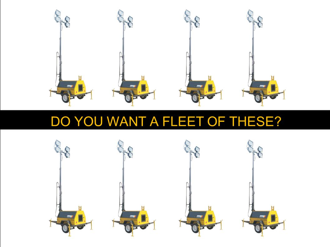 DO YOU WANT A FLEET OF THESE?