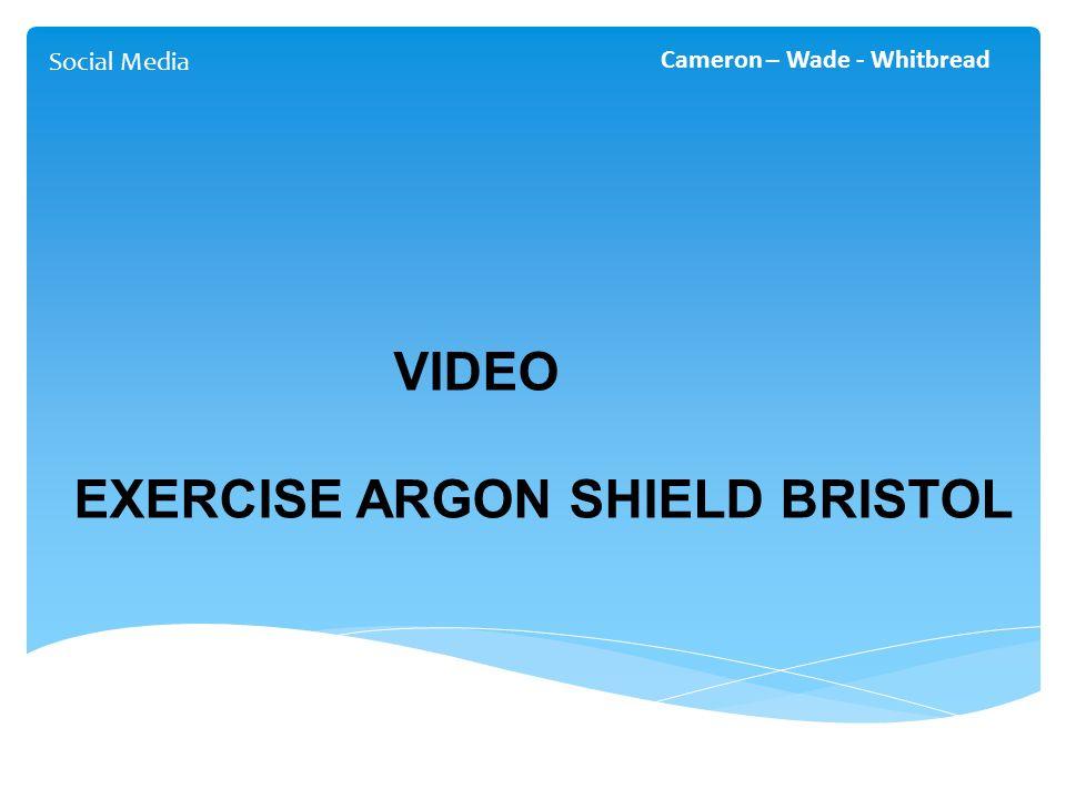 Social Media Cameron – Wade - Whitbread VIDEO EXERCISE ARGON SHIELD BRISTOL
