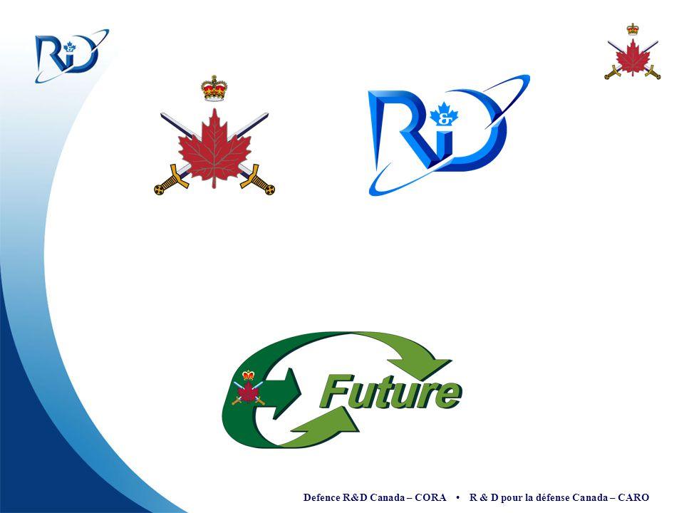 Defence R&D Canada – CORA R & D pour la défense Canada – CARO