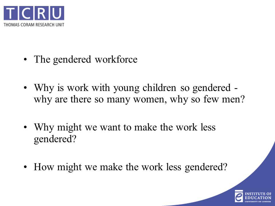The gendered workforce, UK 2001-2