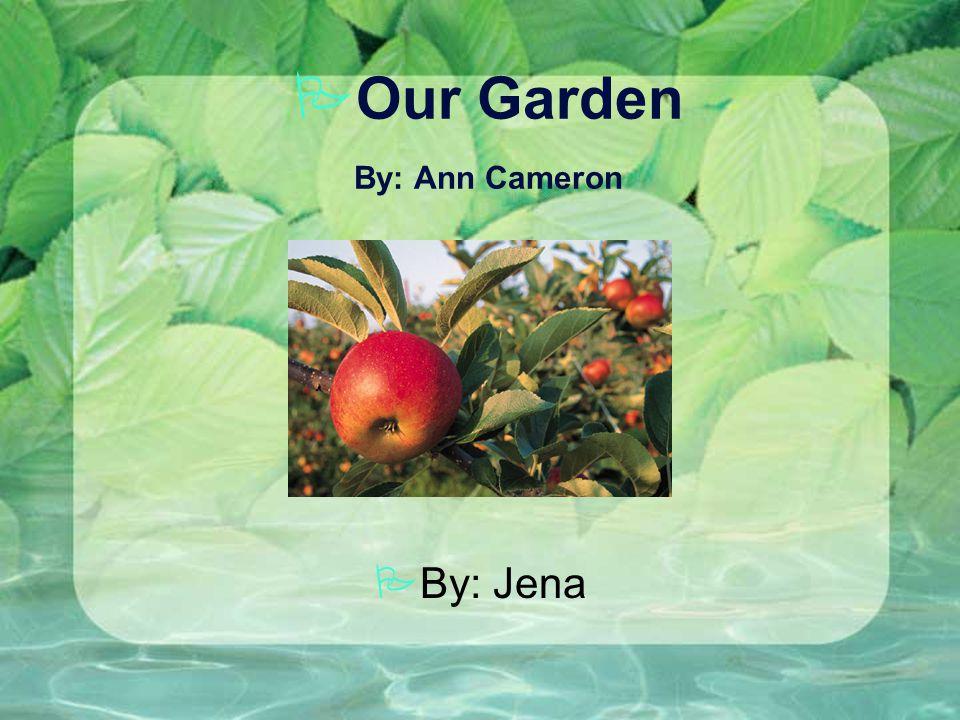 POur Garden By: Ann Cameron PBy: Jena