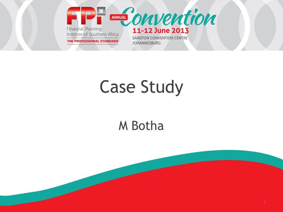 Case Study M Botha 1