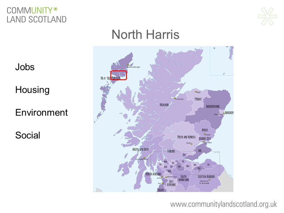 North Harris Jobs Housing Environment Social