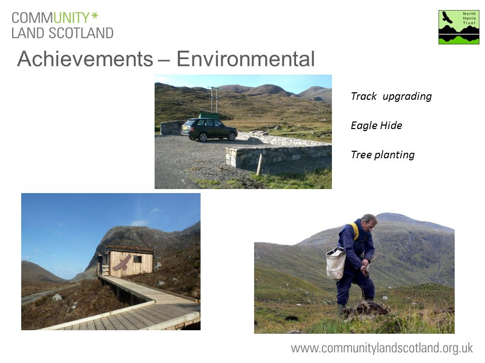 Achievements – Environmental Track upgrading Eagle Hide Tree planting