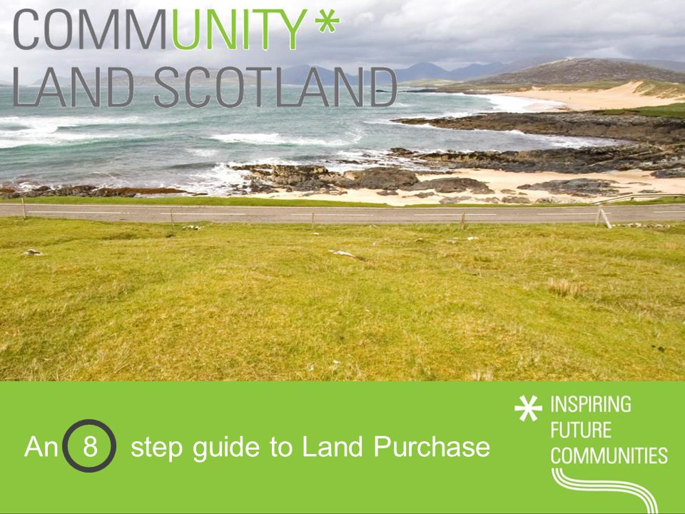 An 8 step guide to Land Purchase