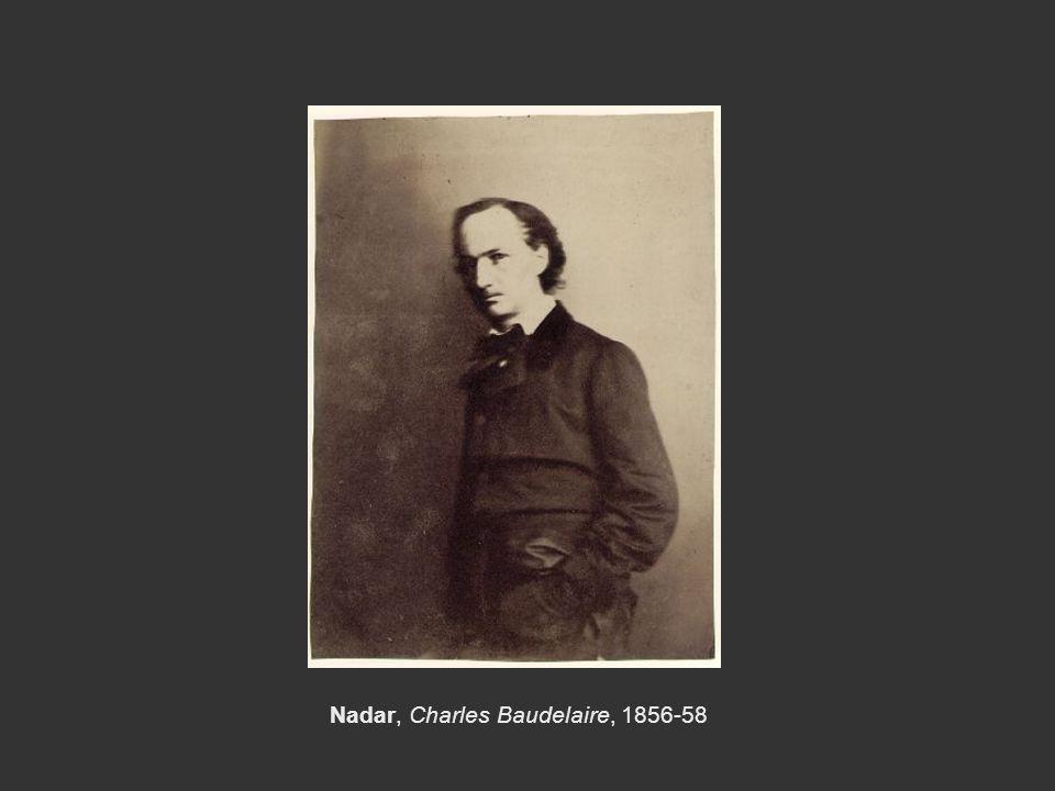 Nadar, Charles Baudelaire, 1856-58