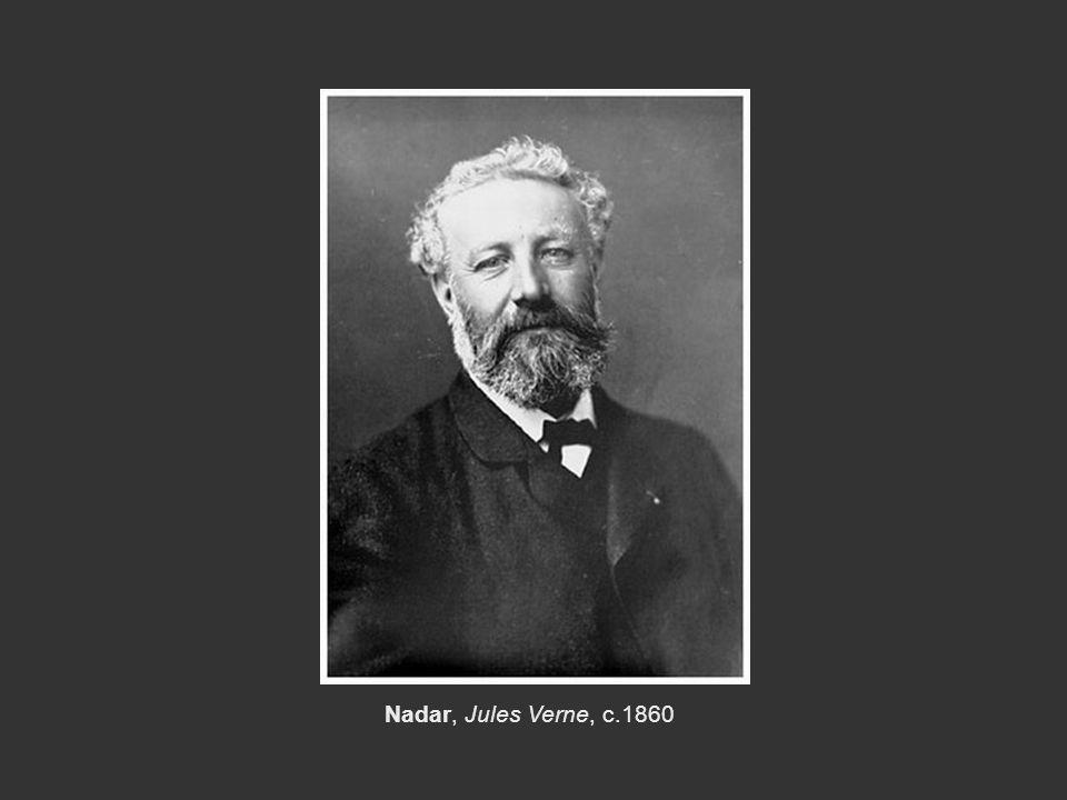 Nadar, Jules Verne, c.1860