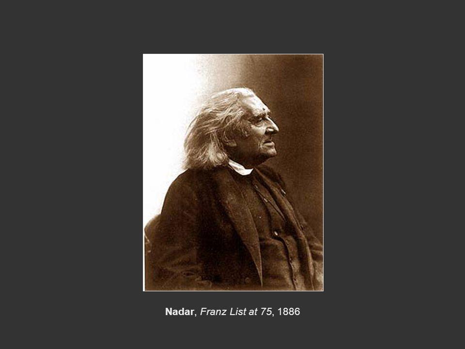Nadar, Franz List at 75, 1886