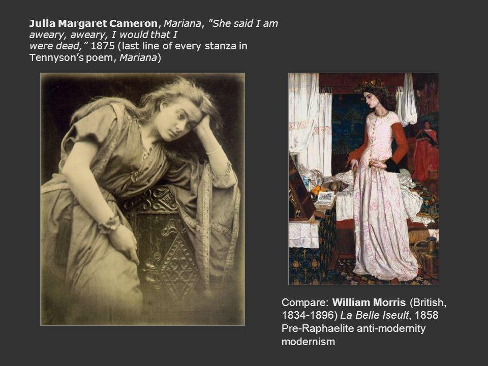 Julia Margaret Cameron, Mariana,