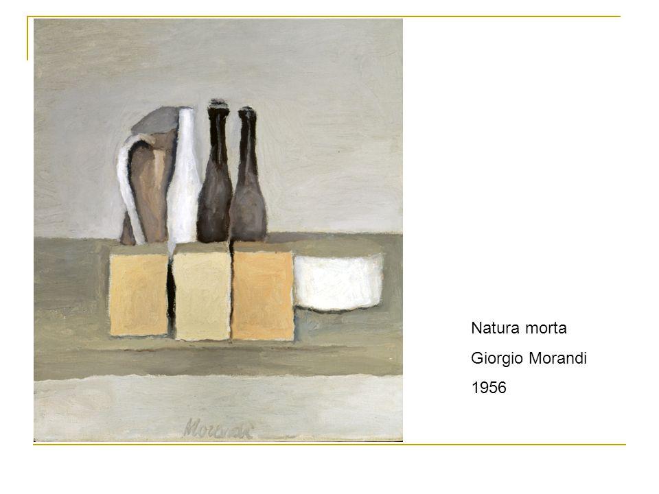 Natura morta Giorgio Morandi 1956