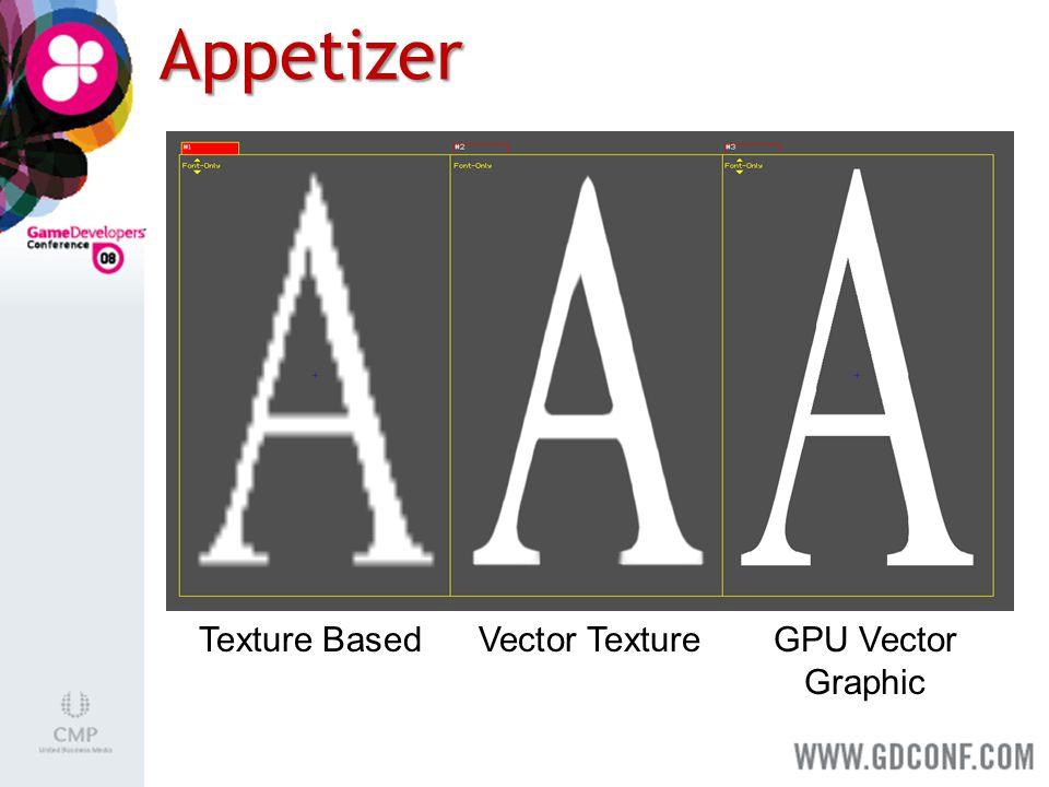 Appetizer Texture BasedVector TextureGPU Vector Graphic