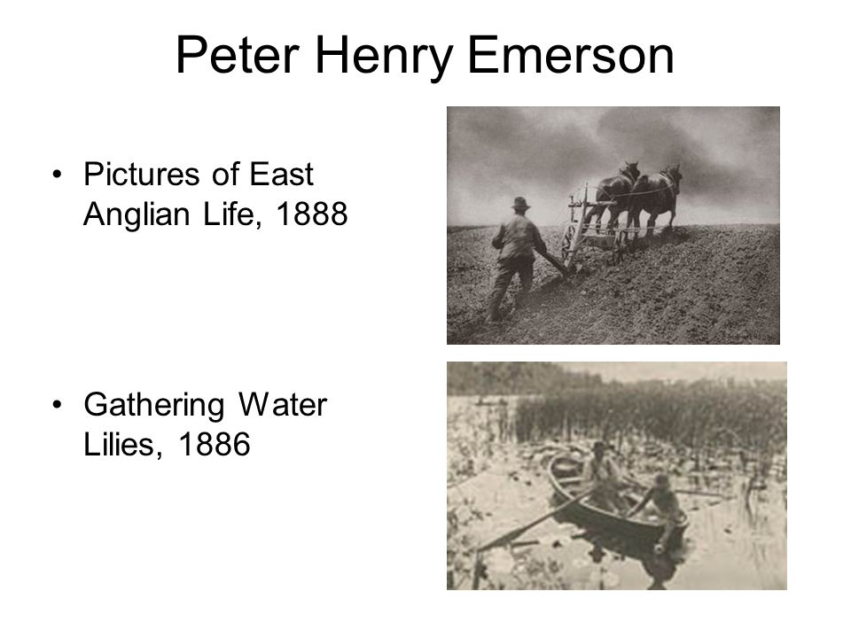 Peter Henry Emerson Pictures of East Anglian Life, 1888 Gathering Water Lilies, 1886