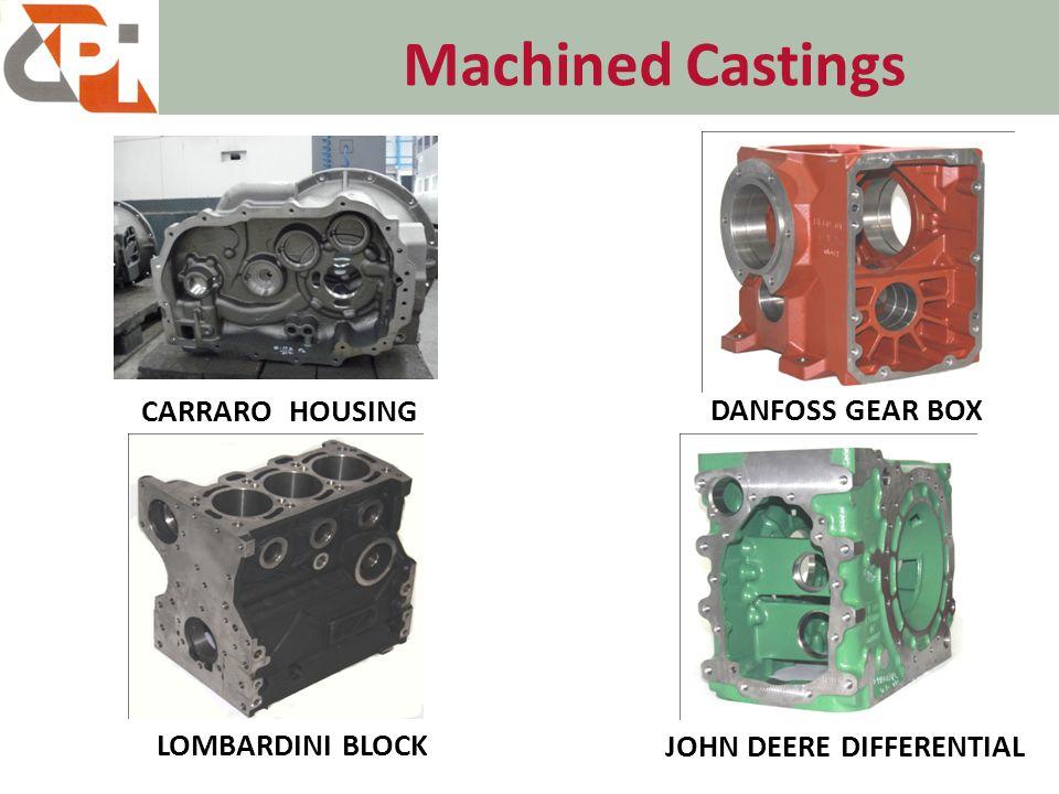 Machined Castings CARRARO HOUSING DANFOSS GEAR BOX LOMBARDINI BLOCK JOHN DEERE DIFFERENTIAL