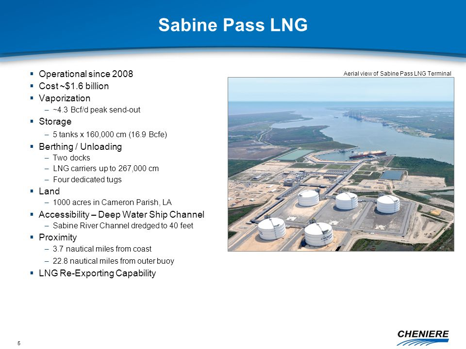16 Sabine Pass Liquefaction Approximate Project Timeline – Trains 1 & 2 2010 NEPA Notice (beginning of 6 month consultation period w.