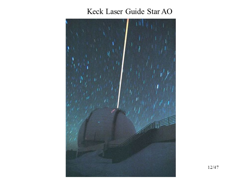 12/47 Keck Laser Guide Star AO