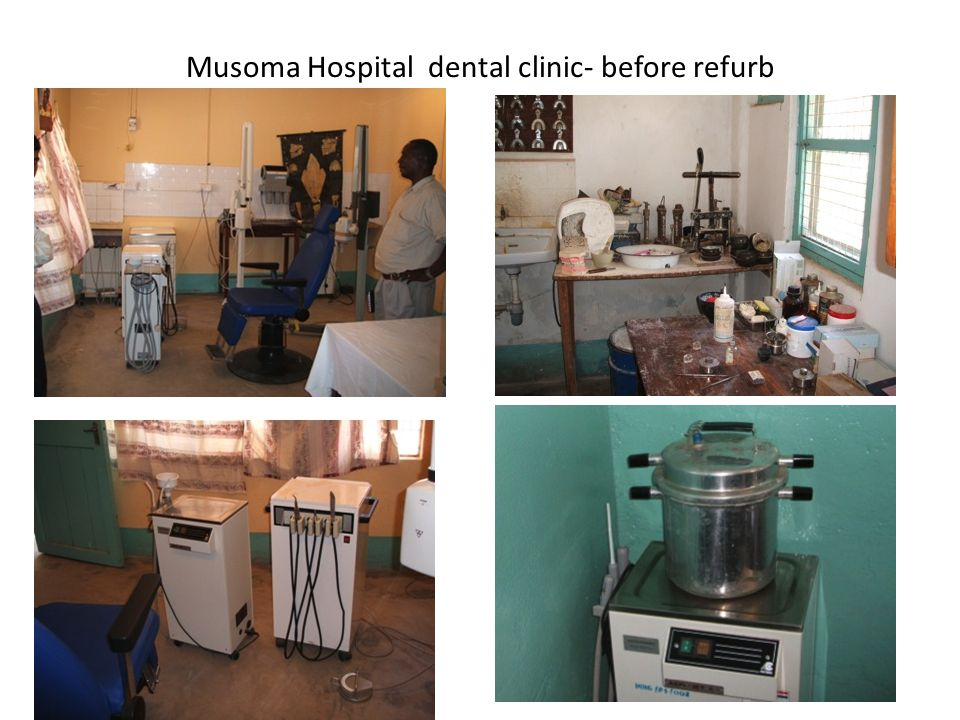 Musoma Hospital dental clinic- before refurb