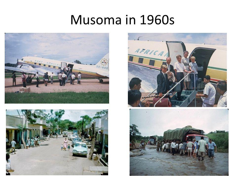 Musoma in 1960s