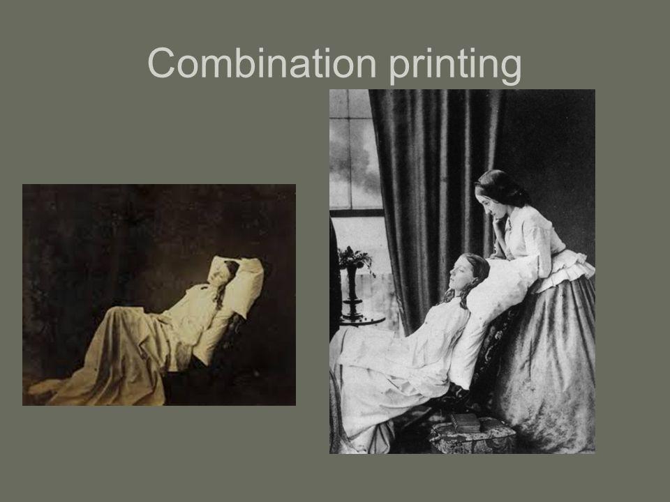 Combination printing