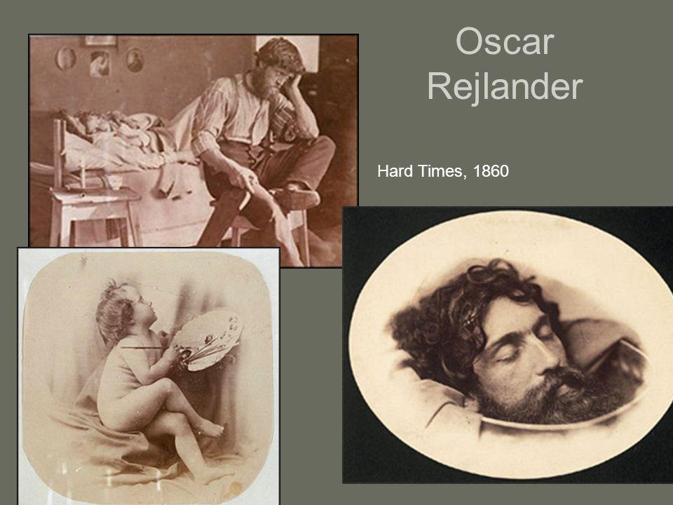 Oscar Rejlander Hard Times, 1860