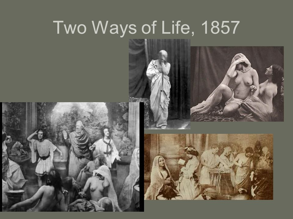 Two Ways of Life, 1857