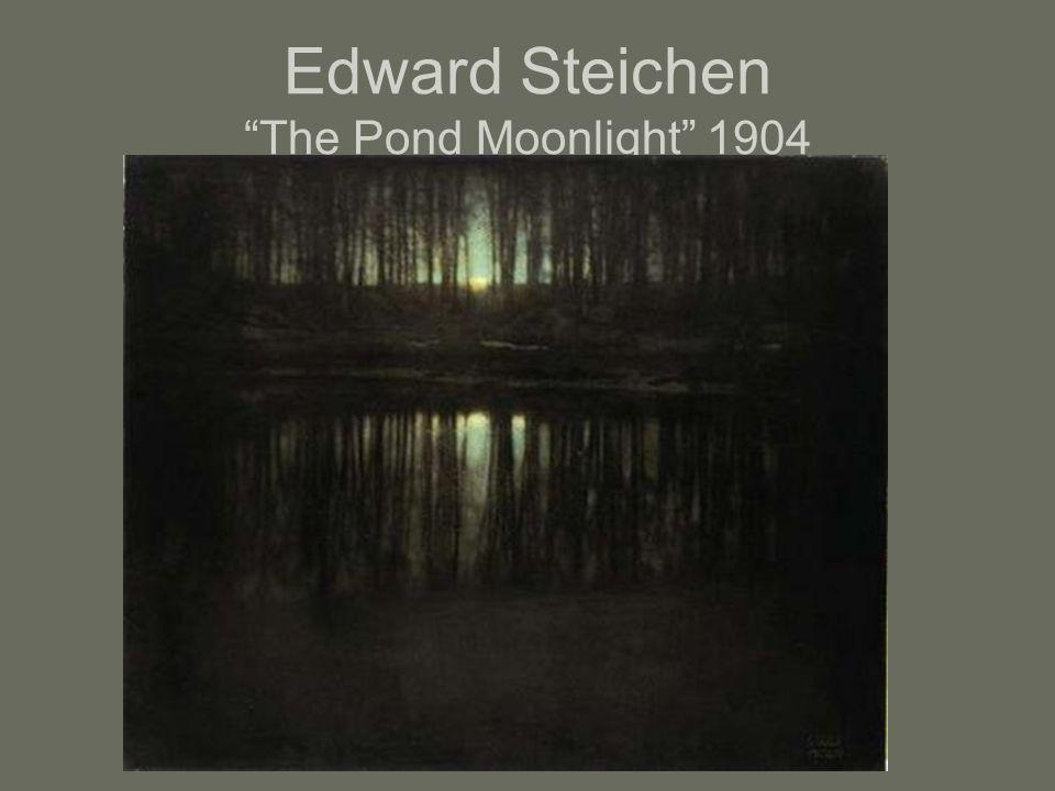 """Edward Steichen """"The Pond Moonlight"""" 1904"""