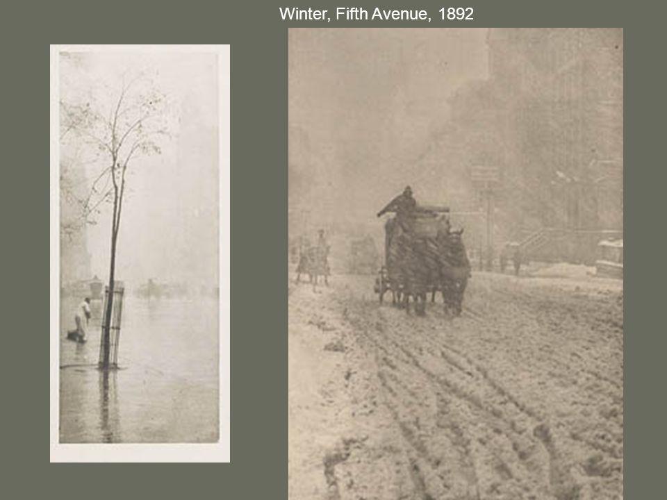 Winter, Fifth Avenue, 1892