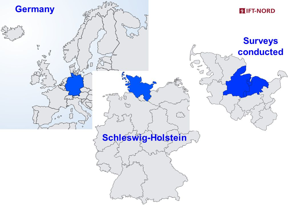 Germany Schleswig-Holstein Surveys conducted