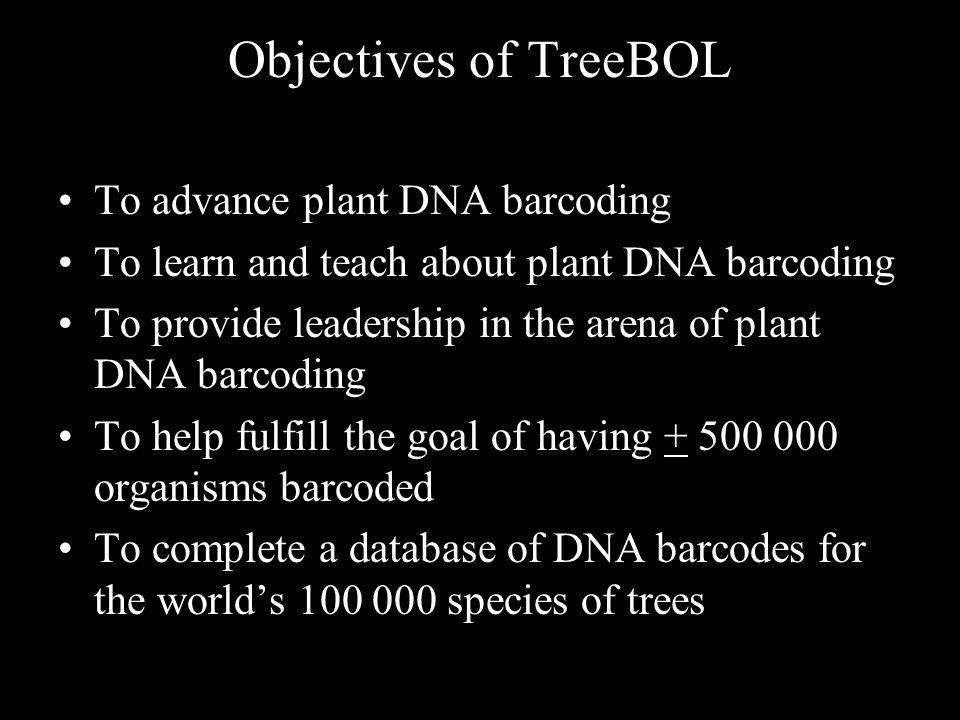 SCIENTIFIC ADVISORY COMMITTEE OF TreeBOL GLOBAL ADMINISTRATION OF TreeBOL K.