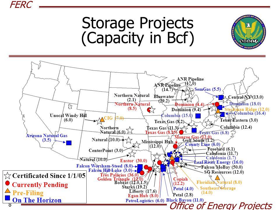 FERC Office of Energy Projects 9 U.S.A. Everett, MA : 1.035 Bcfd (SUEZ LNG - DOMAC) B.